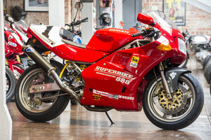 1993 Ducati 888 SP5 Concours Condition Number 193 of 500