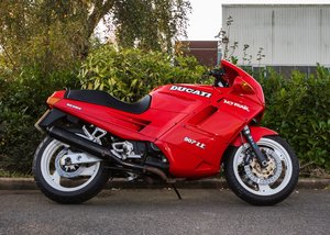 1991 Ducati 907ie SOLD by Auction