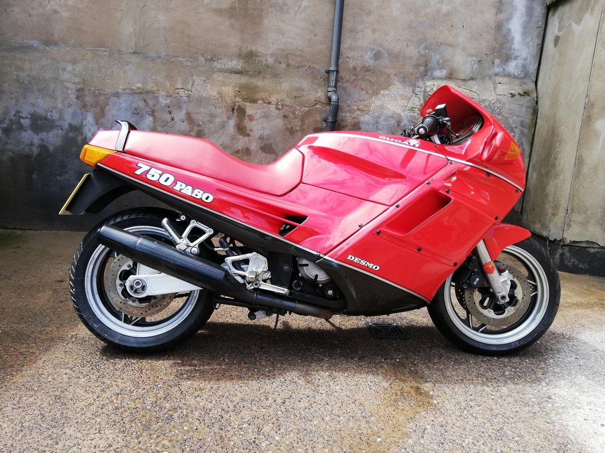 1990 Ducati 750 Paso For Sale (picture 1 of 6)