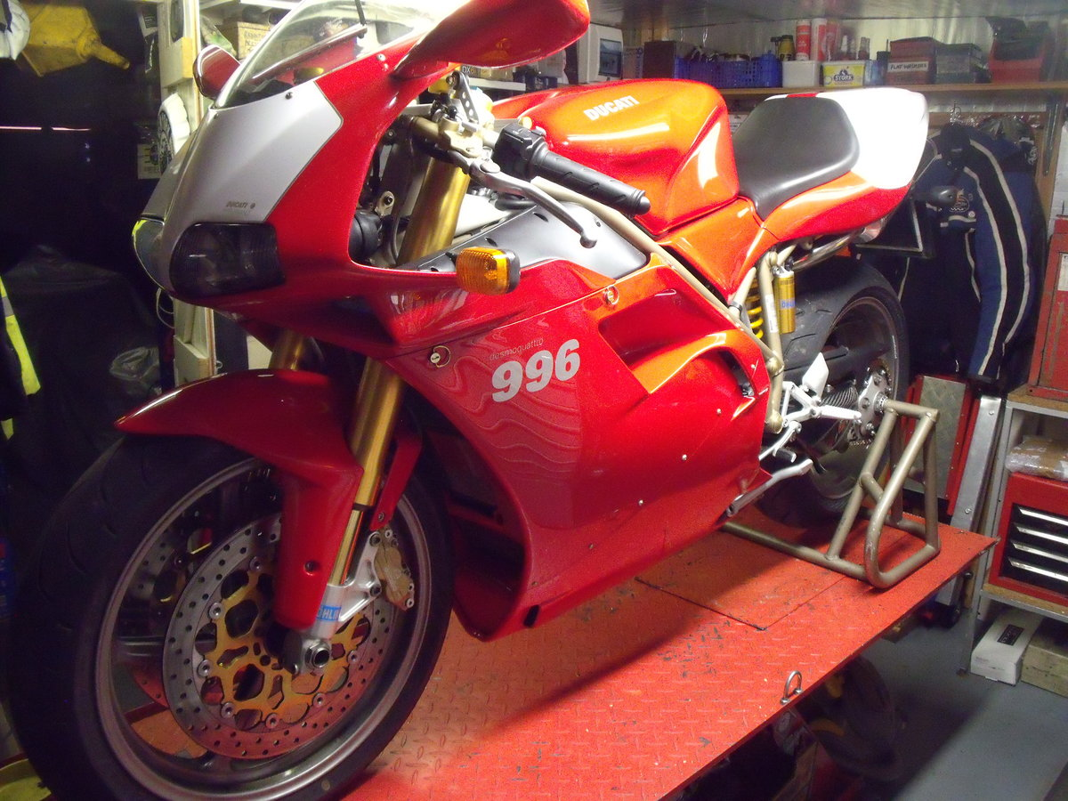 1999 DUCATI 996 SOLD (picture 1 of 6)