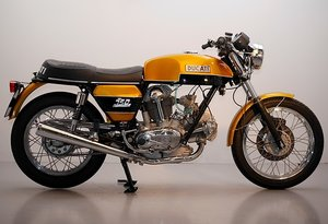 1975 Ducati 750 GT full professional ground up restoration.