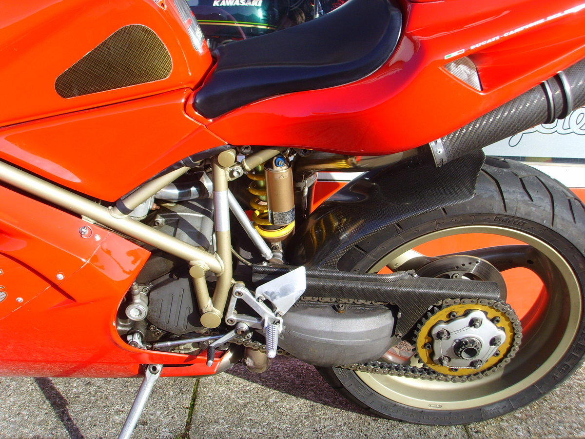 1997 Ducati 916 Biposto 2 previous owners Iconic Classic For Sale (picture 5 of 6)
