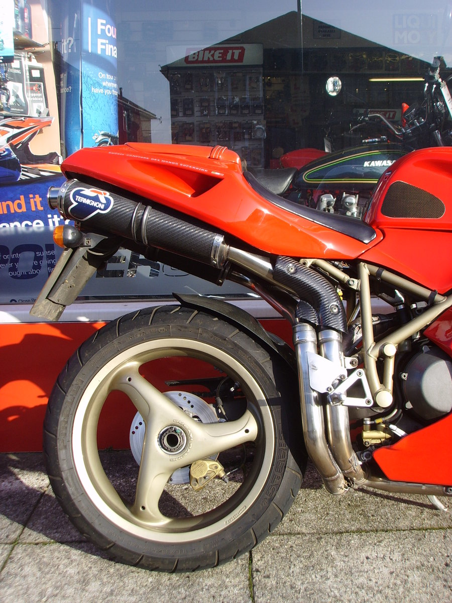 1997 Ducati 916 Biposto 2 previous owners Iconic Classic For Sale (picture 6 of 6)