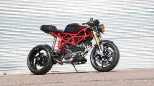 **REMAINS AVAILABLE** 2004 Ducati 1000DS Custom Cafe Racer For Sale by Auction