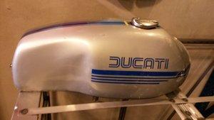 1973 ducati 750 sport fuel tank