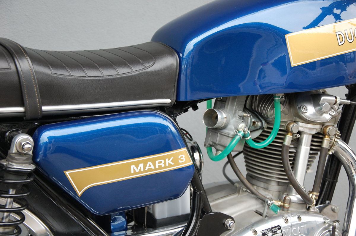 1974 Ducati Mark 3 fully restored with desmo engine For Sale (picture 5 of 6)