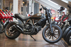 Ducati Scrambler Italia Independent Ltd Edition Del Mileage