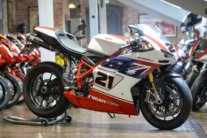 2009 DUCATI 1098R TROY BAYLISS SIGNED BY BAYLISS ONLY 927 miles