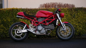 2001 Ducatti Cafe Racer based on Ducati Monster 916 Sel