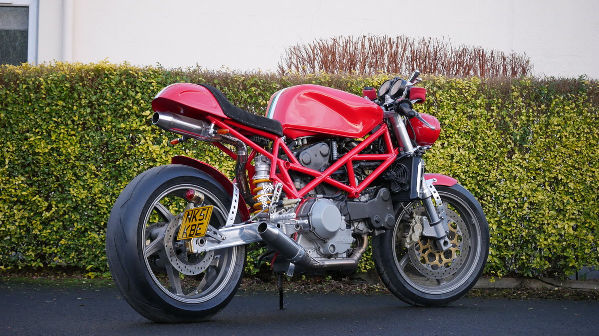 2001 Ducatti Cafe Racer based on Ducati Monster 916 Sel For Sale (picture 3 of 6)
