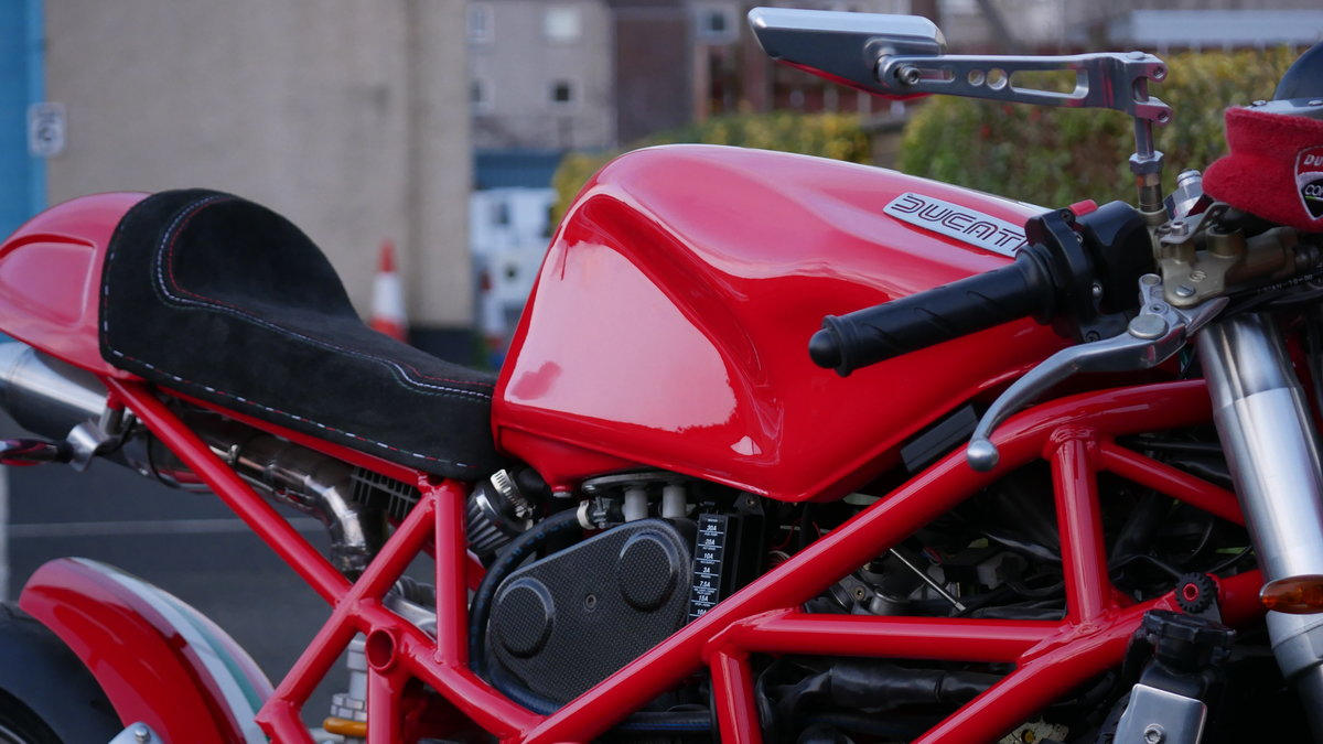2001 Ducatti Cafe Racer based on Ducati Monster 916 Sel For Sale (picture 5 of 6)