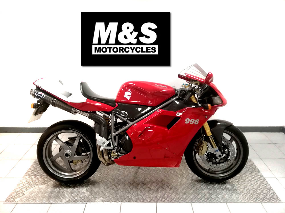 2001 2000 Ducati 996 SPS SOLD (picture 1 of 6)