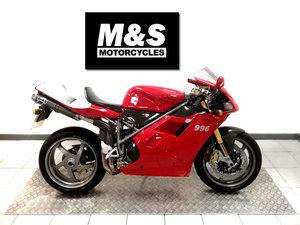 2001 2000 Ducati 996 SPS