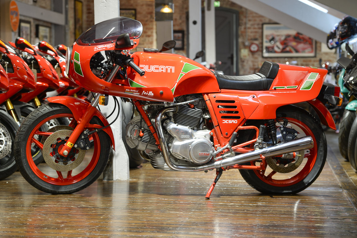 1986 Ducati Mike Hailwood Mille Rep Series 3 Brand New/Old stock For Sale (picture 6 of 6)
