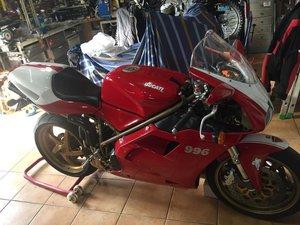 1999 Ducati 996  SOLD