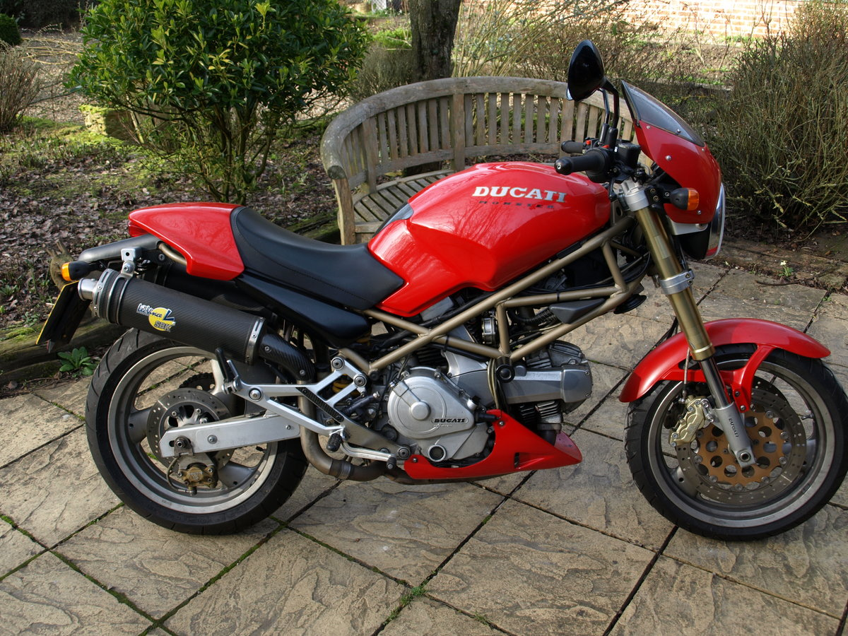 1997 Ducati 600 Monster,  Can be ridden on A2 License SOLD (picture 1 of 6)