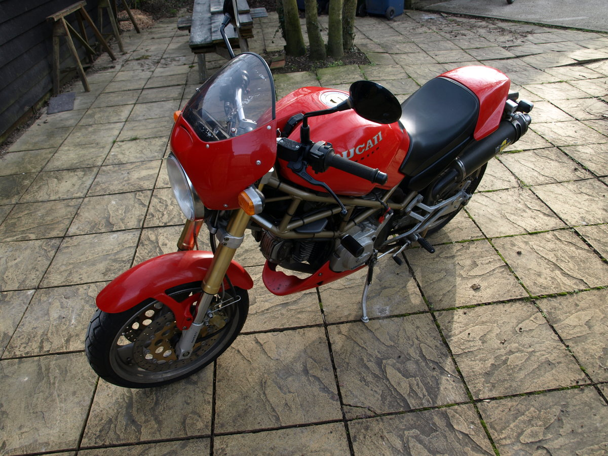 1997 Ducati 600 Monster,  Can be ridden on A2 License SOLD (picture 2 of 6)