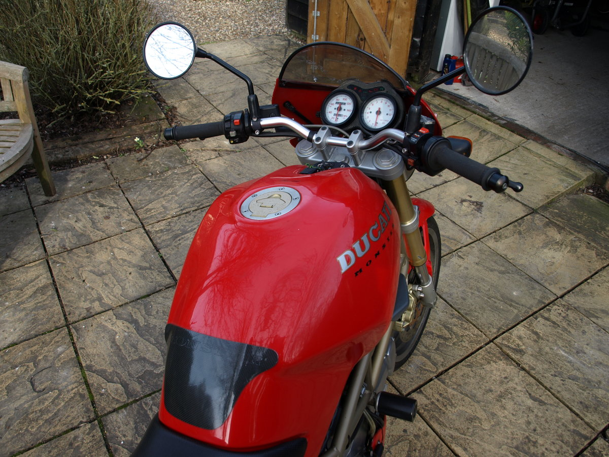 1997 Ducati 600 Monster,  Can be ridden on A2 License SOLD (picture 5 of 6)