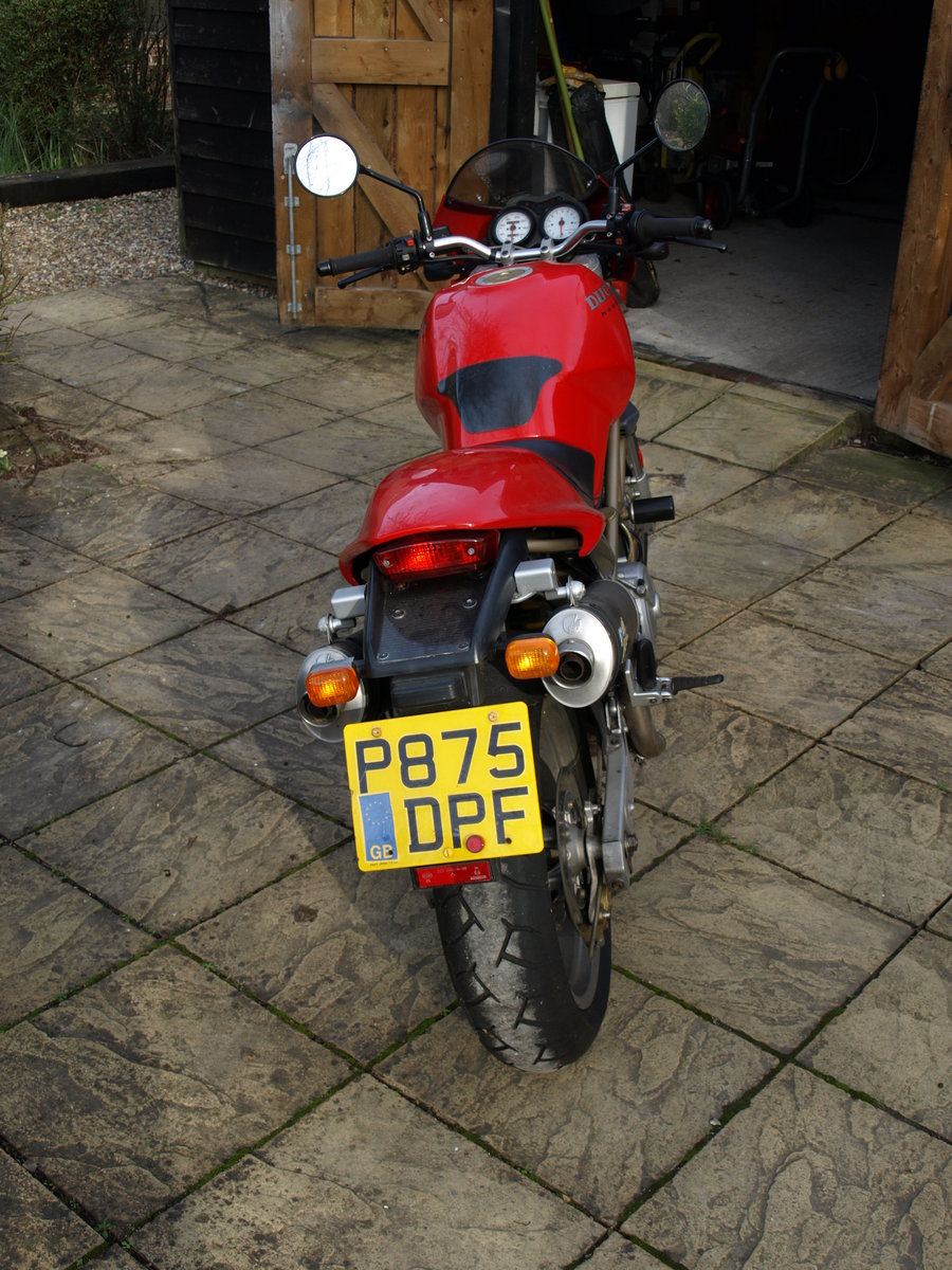 1997 Ducati 600 Monster,  Can be ridden on A2 License SOLD (picture 6 of 6)