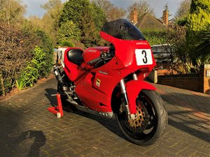 """1990 DUCATI """"3D CUP"""" Racing Bike based on 851,906,SL2 For Sale"""
