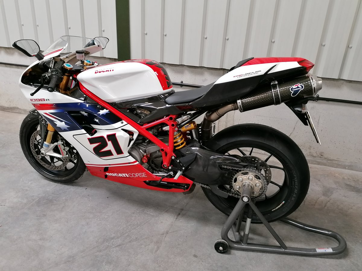 2009 Ducati 1098R Troy Bayliss Limited Edition For Sale (picture 2 of 6)
