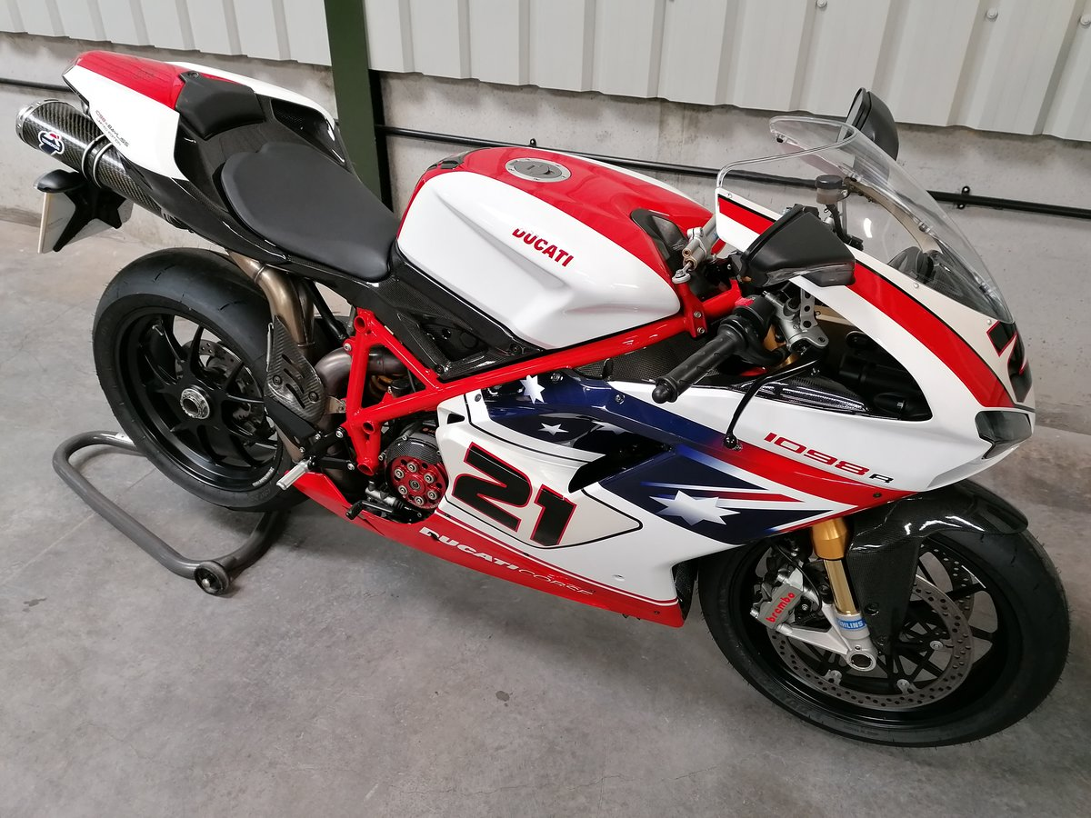 2009 Ducati 1098R Troy Bayliss Limited Edition For Sale (picture 3 of 6)