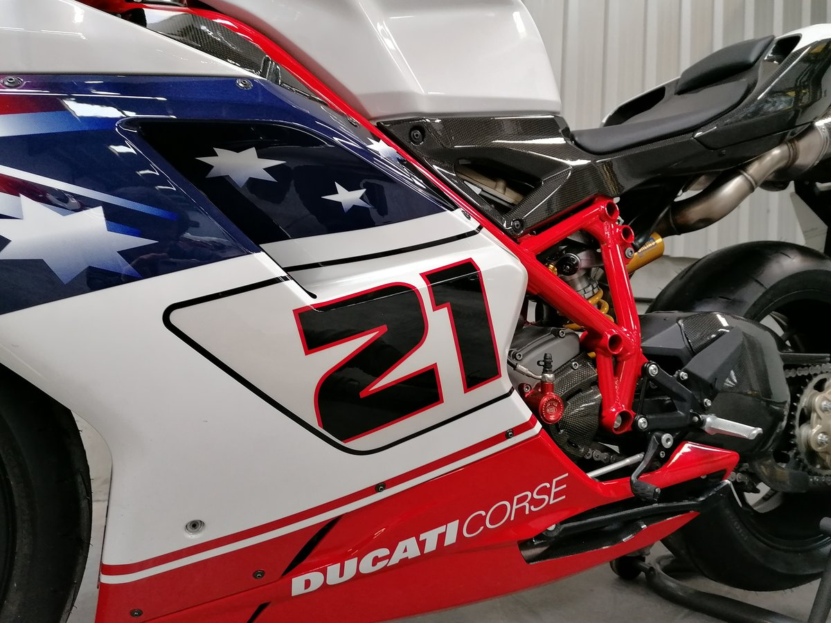 2009 Ducati 1098R Troy Bayliss Limited Edition For Sale (picture 5 of 6)