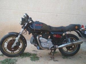 1981 Ducati 900 se darmah