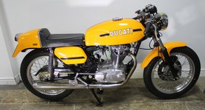 1975  Ducati 350 cc MK3 Desmo  ORIGINAL UK BIKE