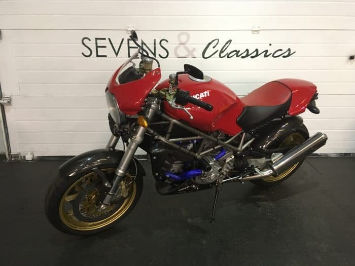 2001 Ducati Monster S4 Senna For Sale (picture 2 of 6)