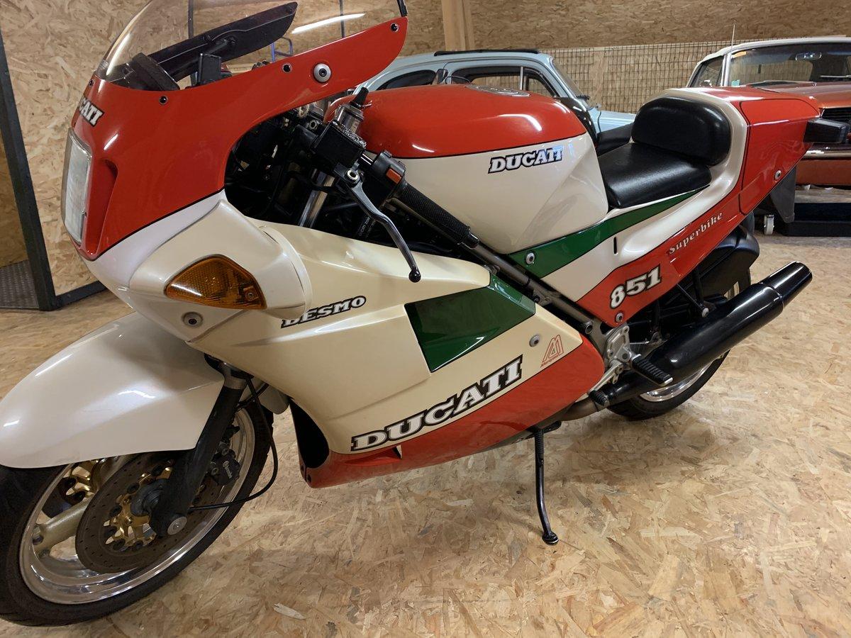 1988 Ducati - 851 strada tricolore For Sale (picture 4 of 6)