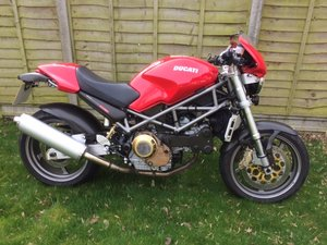 Ducati moster s4 with upgrades