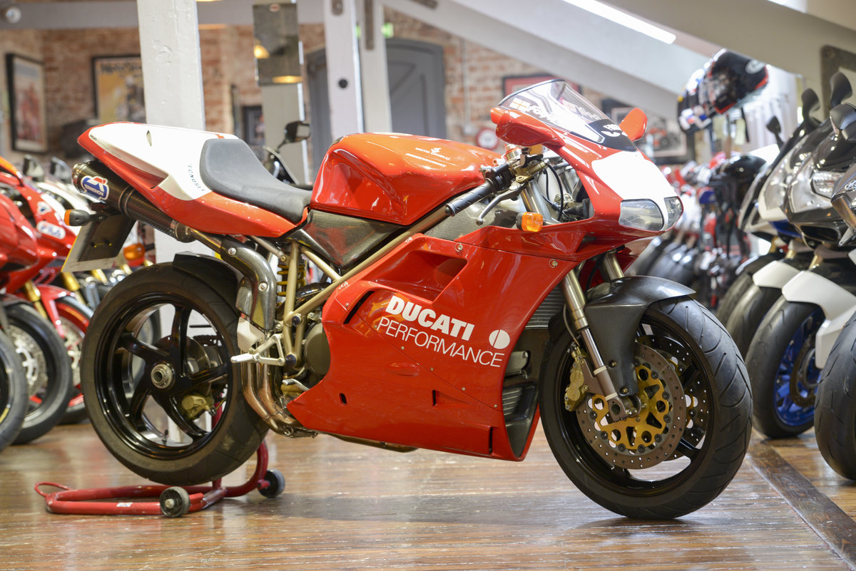 1999 Ducati 916SPS Foggy Rep #177 Signed by Carl Fogarty For Sale (picture 1 of 6)