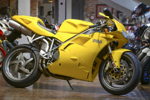 2001 Ducati 996 Biposta Low Mileage Example