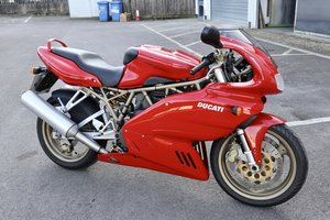 2000 Ducati 750 SS 4523 Miles from NEW 1 Owner!