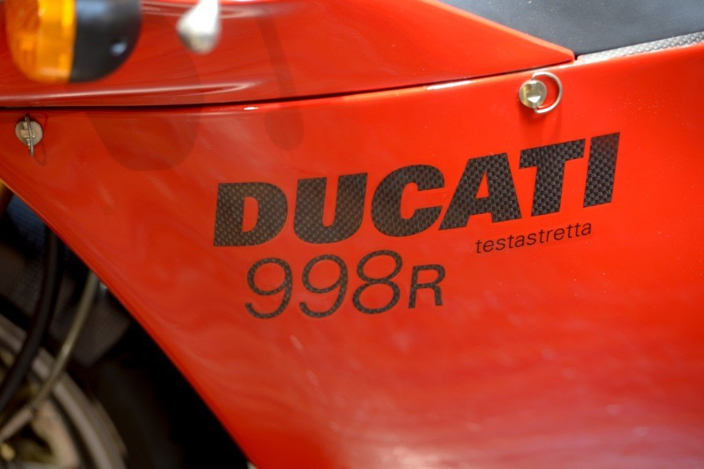 2002 Ducati 998R Low Mileage Example. No: 006 of 700 Produced For Sale (picture 5 of 6)