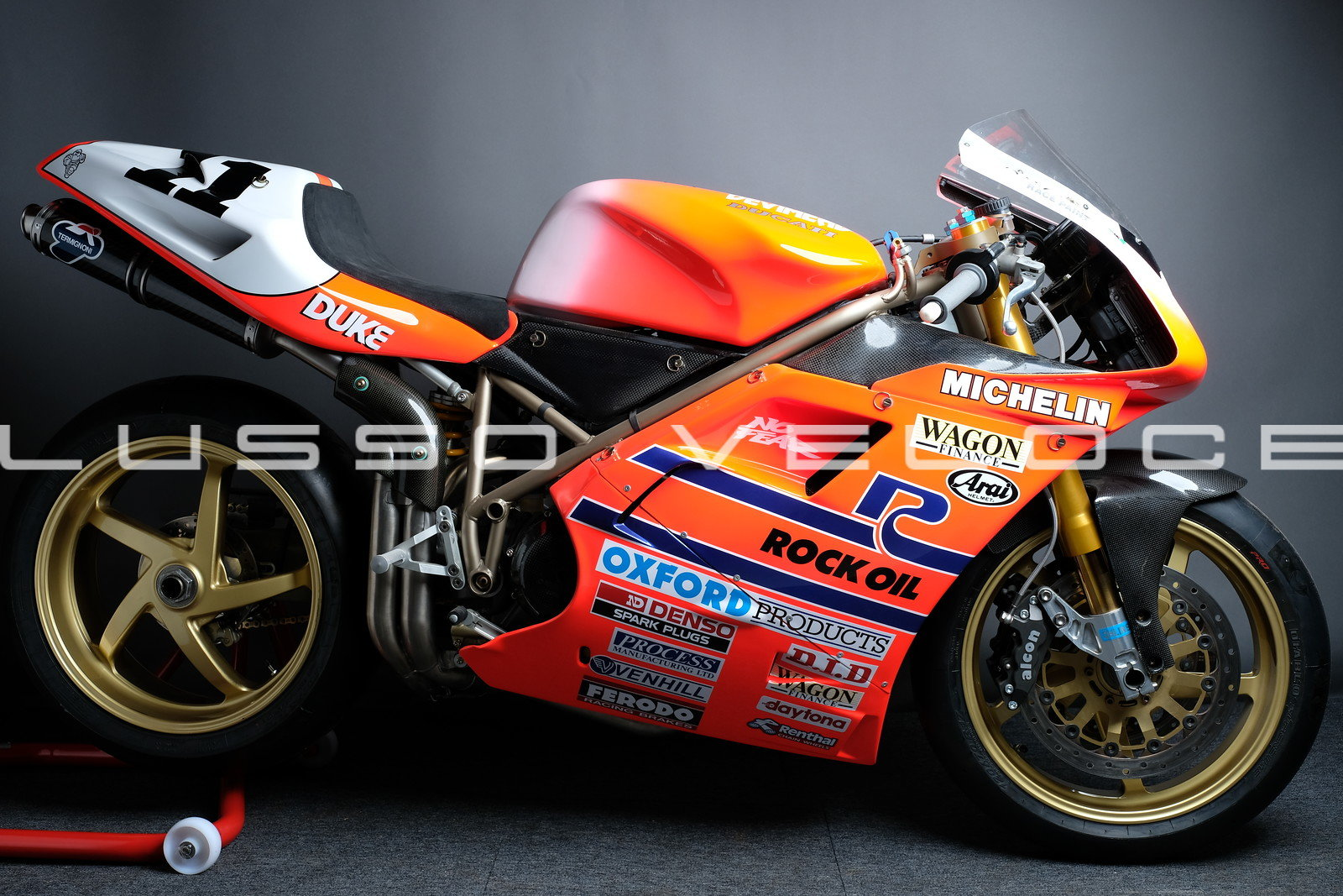 1995 Ducati 955 RS Corse Ex Hizzy 95 BSB Title winner  For Sale (picture 1 of 6)