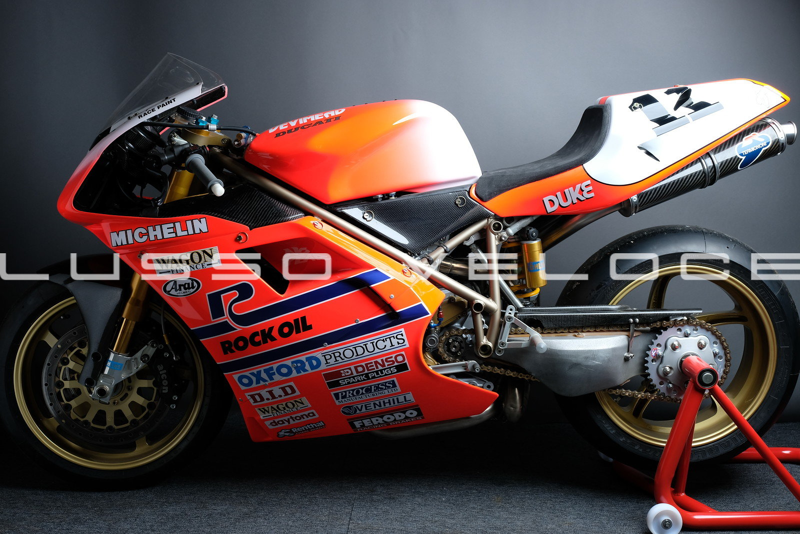 1995 Ducati 955 RS Corse Ex Hizzy 95 BSB Title winner  For Sale (picture 2 of 6)