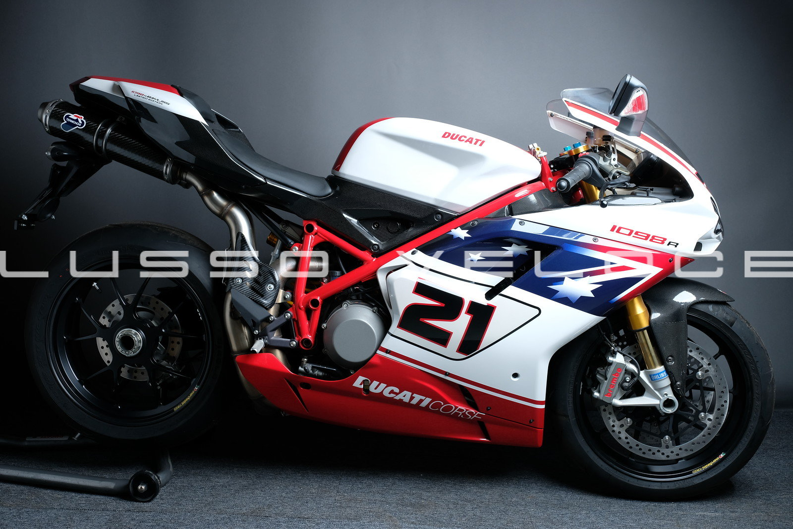 2009 Zero Miles Ducati 1098R Bayliss special edition  For Sale (picture 1 of 6)