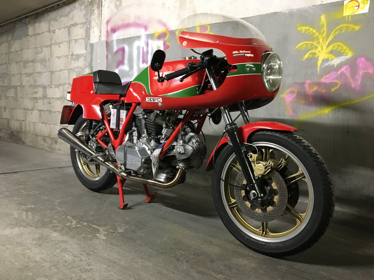 1980 Ducati Mike Hailwood Replica For Sale (picture 1 of 6)