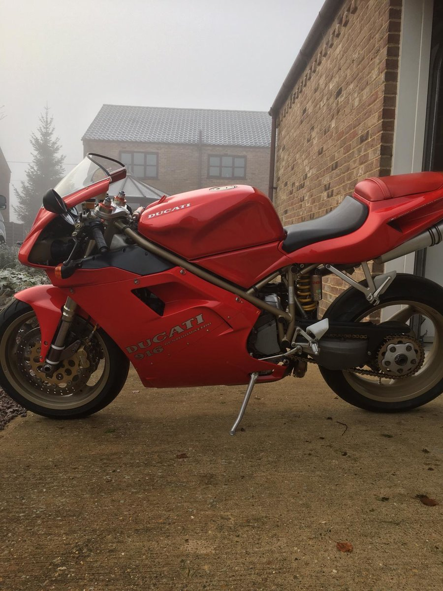 1998 Ducati 916 Biposto..bike now SOLD SOLD (picture 2 of 4)