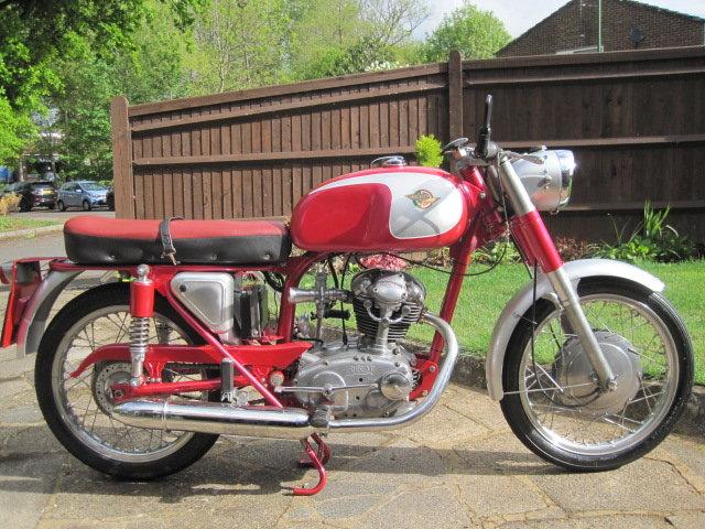 1963 DUCATI 125cc  SOLD (picture 1 of 6)