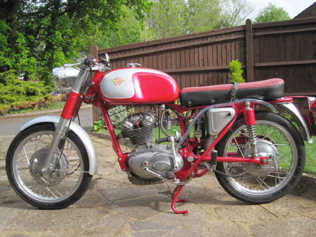 1963 DUCATI 125cc  SOLD (picture 2 of 6)