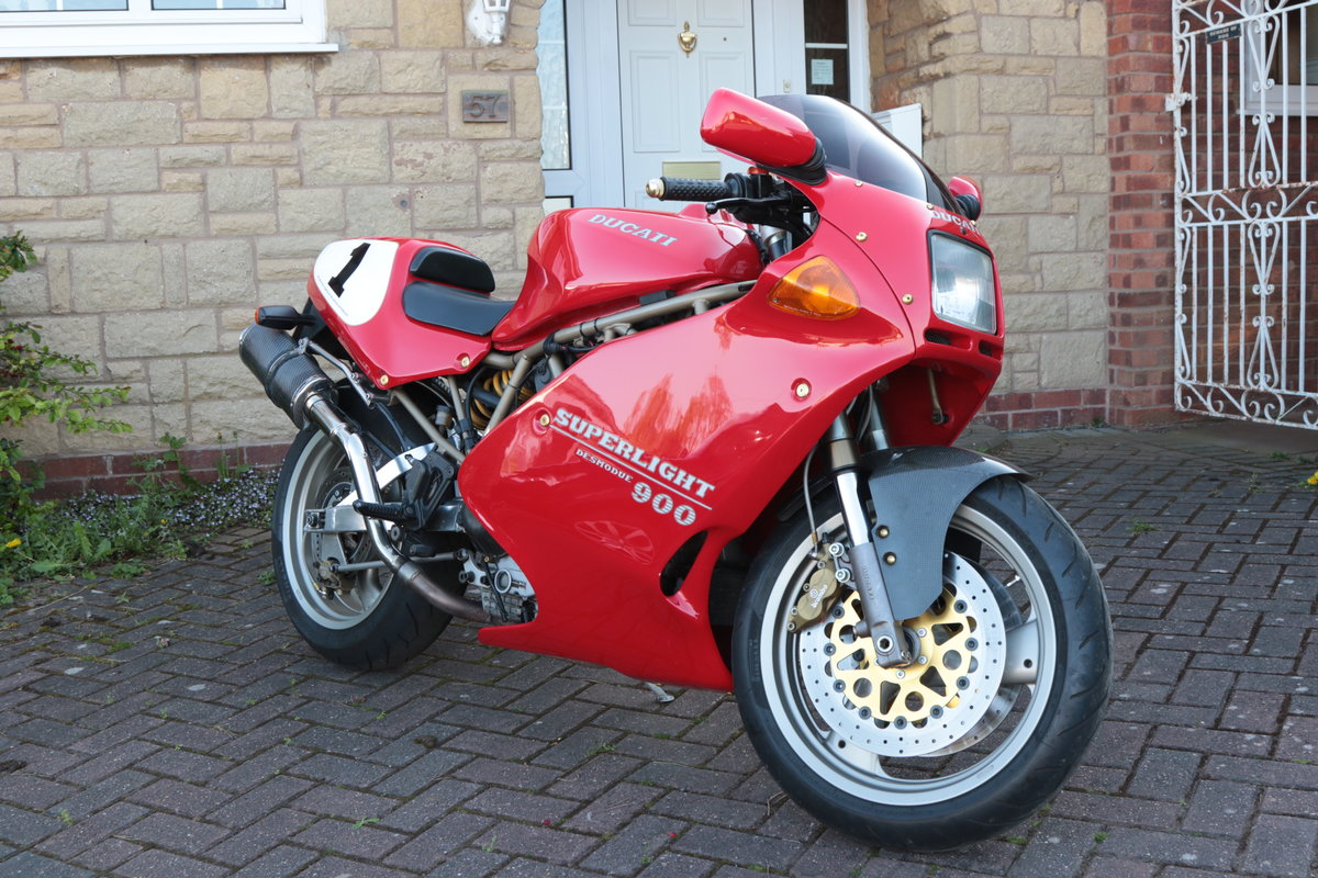 1996 Ducati 900 Super Light Mk5 Numebr 100 out of 309  SOLD (picture 1 of 6)