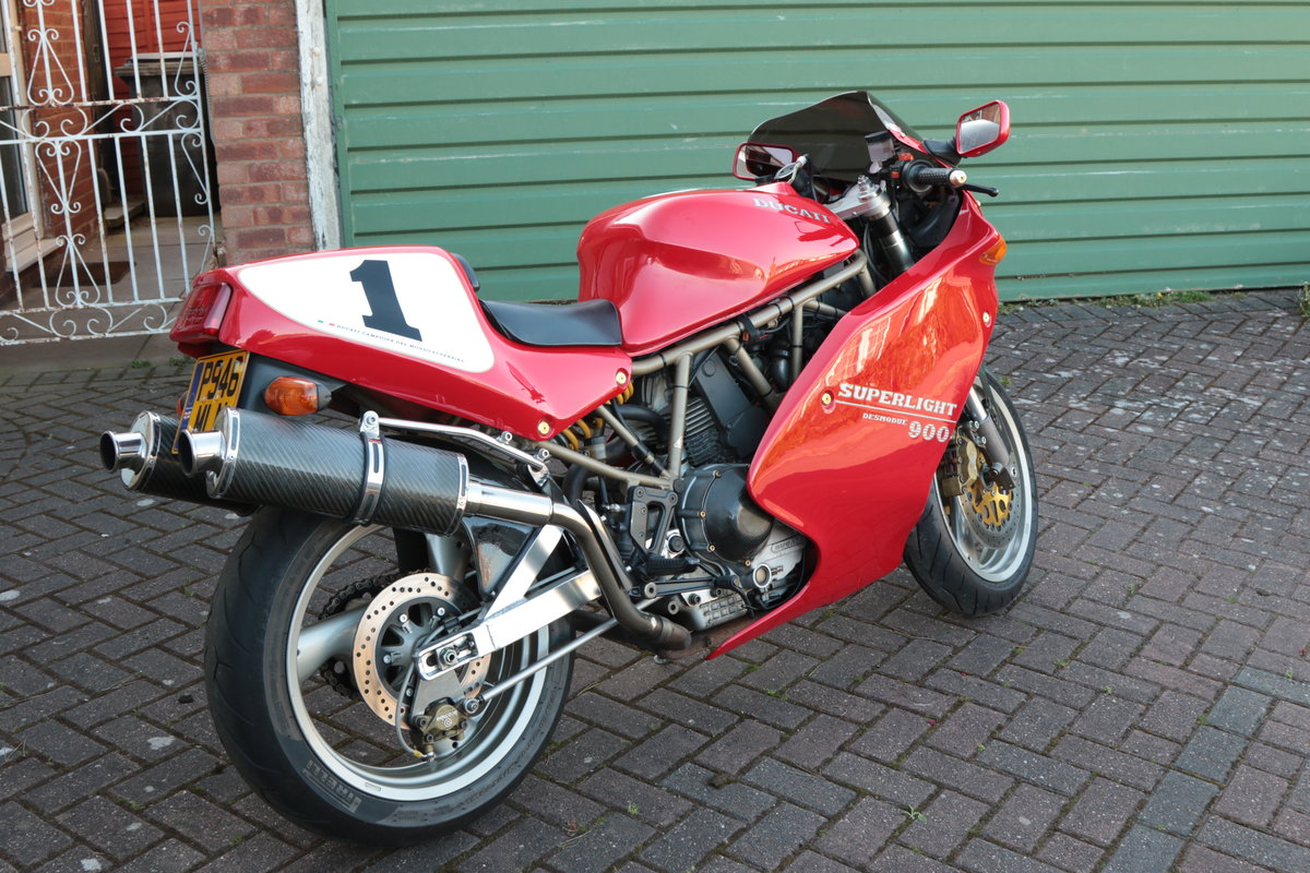 1996 Ducati 900 Super Light Mk5 Numebr 100 out of 309  SOLD (picture 2 of 6)
