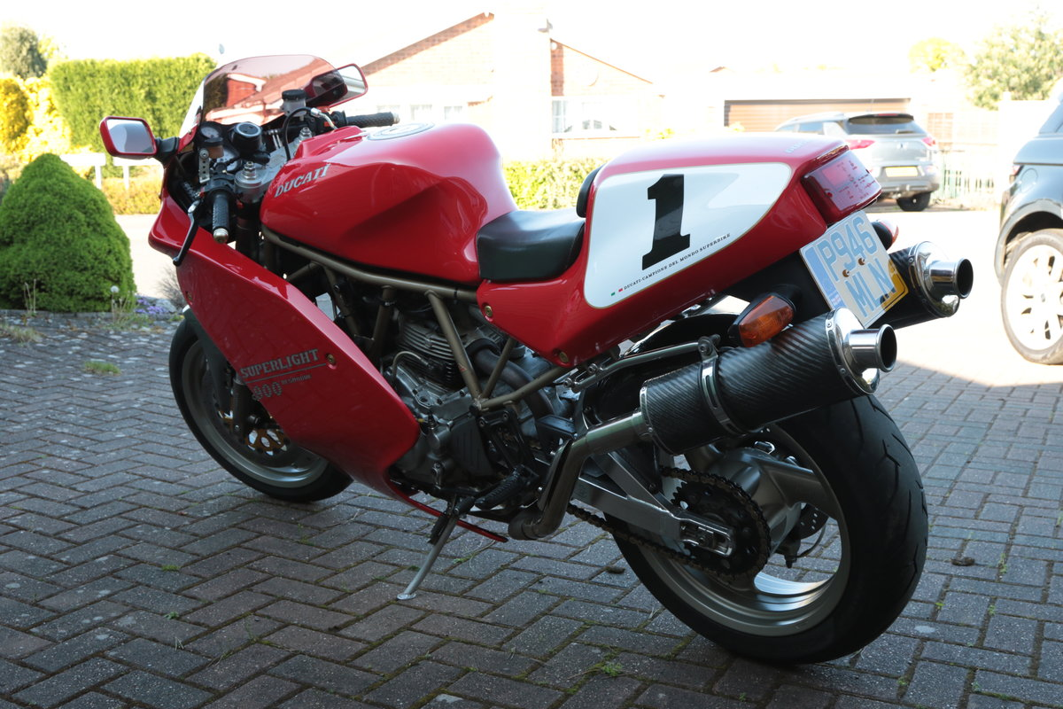 1996 Ducati 900 Super Light Mk5 Numebr 100 out of 309  SOLD (picture 5 of 6)