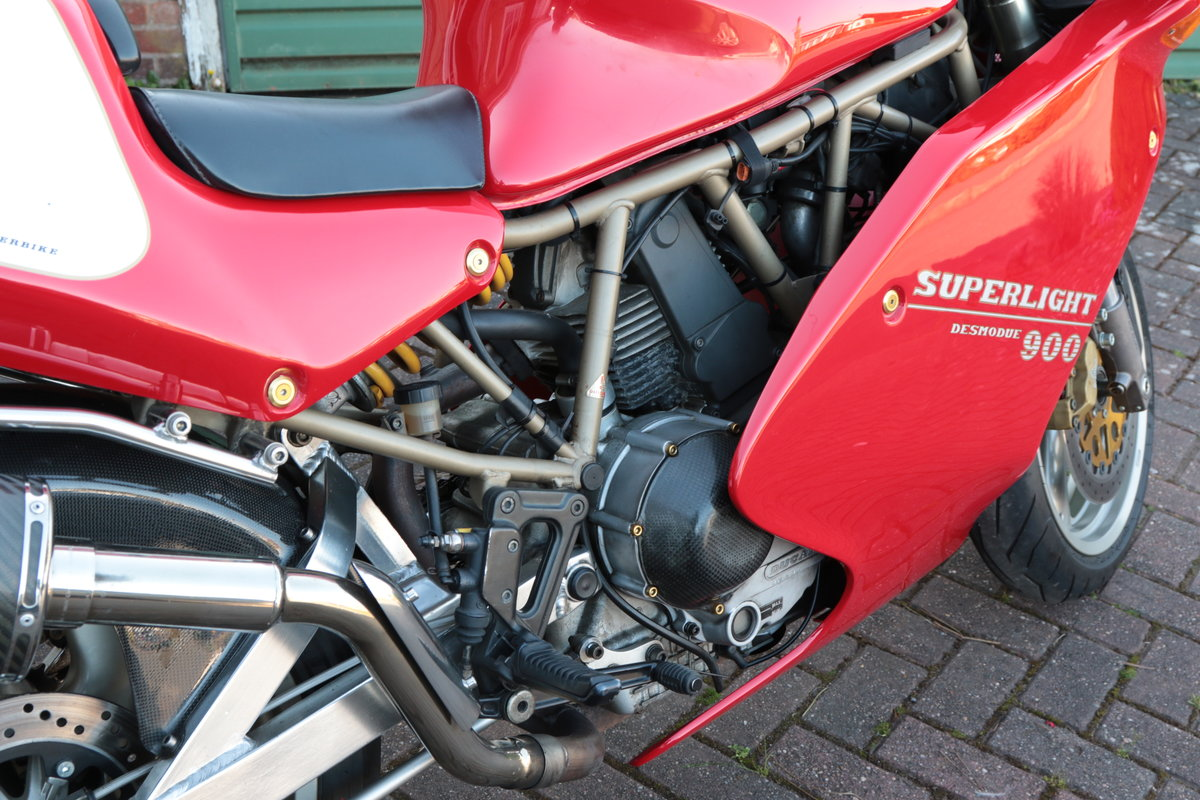 1996 Ducati 900 Super Light Mk5 Numebr 100 out of 309  SOLD (picture 6 of 6)