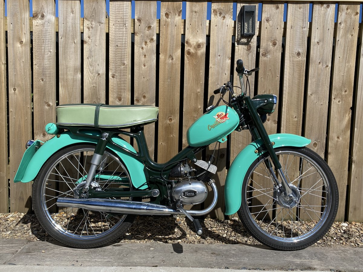 1968 KERRY CAPITINO 50CC MOPED ONE OF THE BEST! £2995 OFFERS PX For Sale (picture 1 of 6)