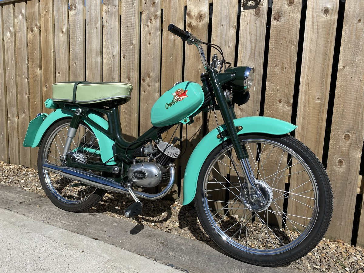 1968 KERRY CAPITINO 50CC MOPED ONE OF THE BEST! £2995 OFFERS PX For Sale (picture 2 of 6)