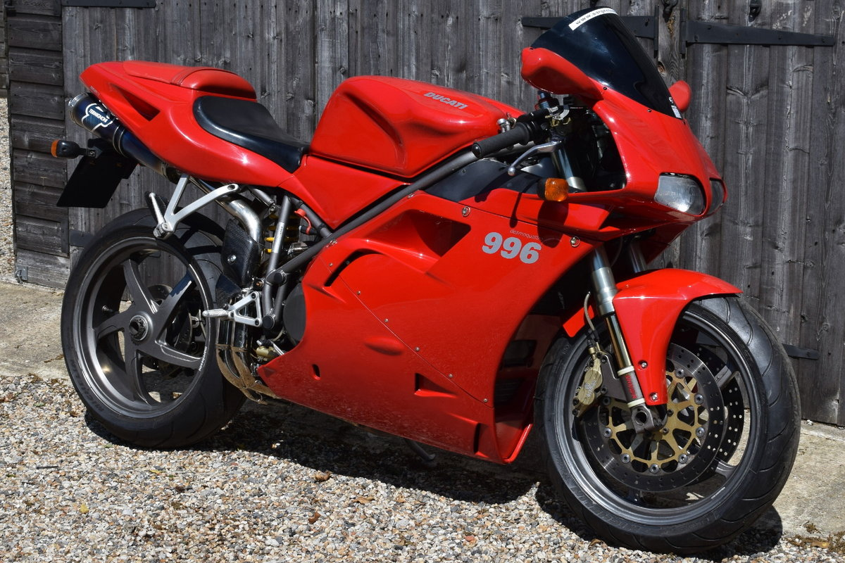 Ducati 996 BiPosto (20000 miles, Just had belts) 2000 W Reg SOLD (picture 1 of 6)